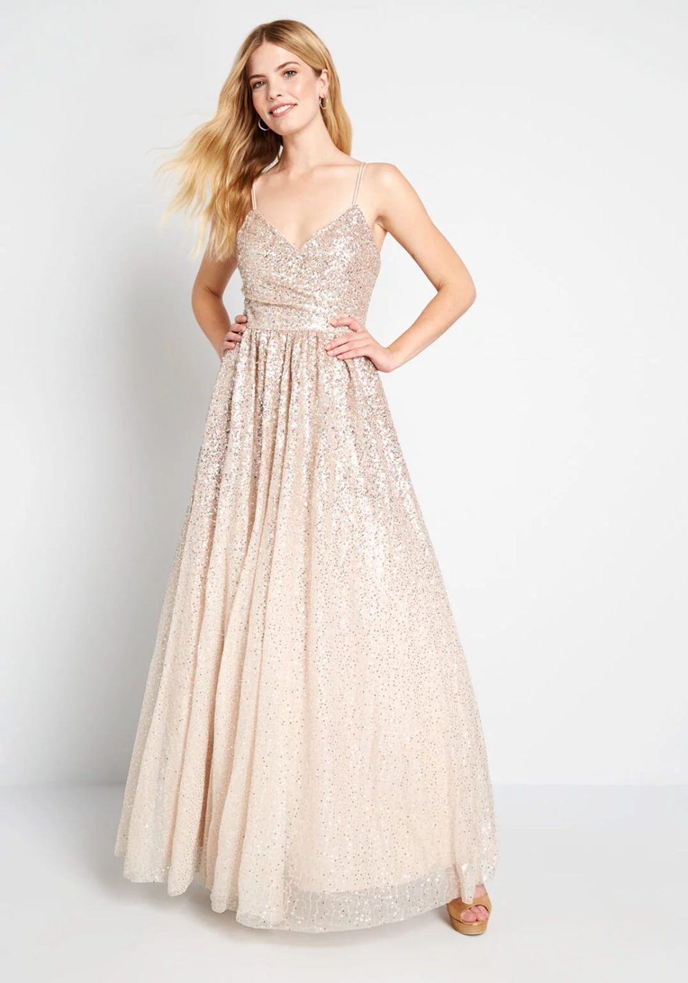 Photo of Cheers to You Sequin Maxi Dress