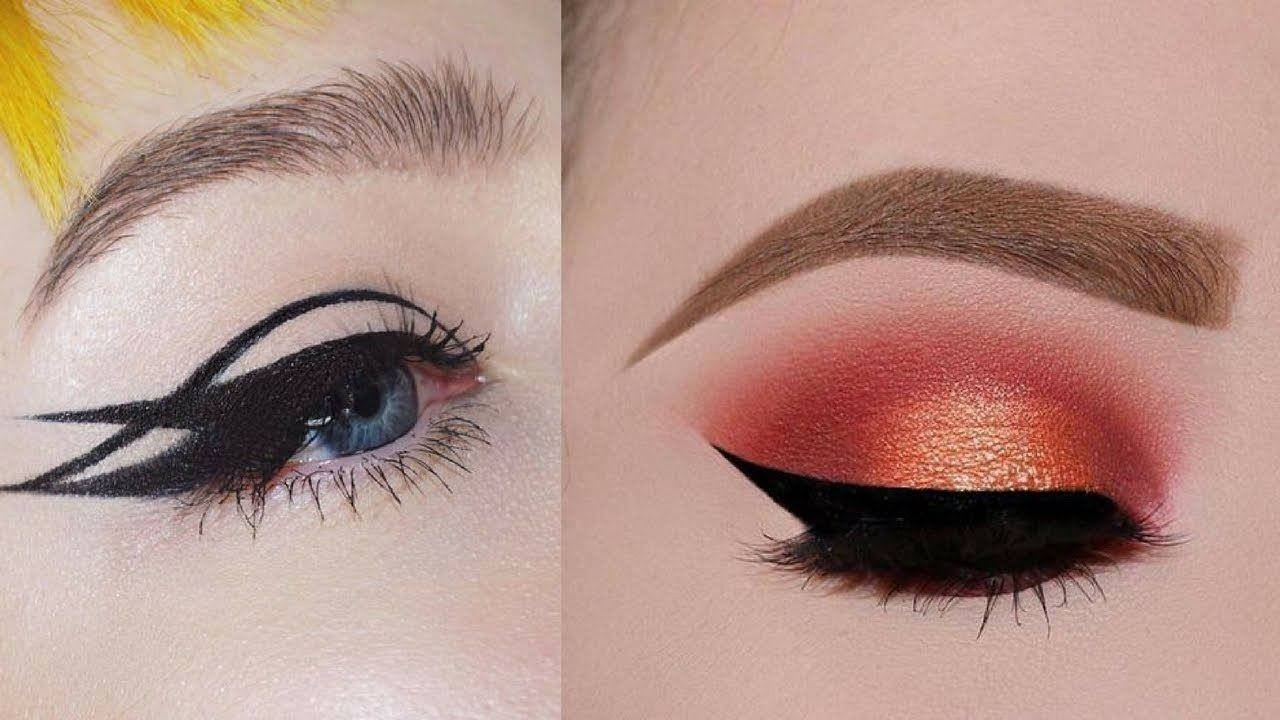 Easy And Beautiful Eye Makeup Tutorial Compilation Videos 9