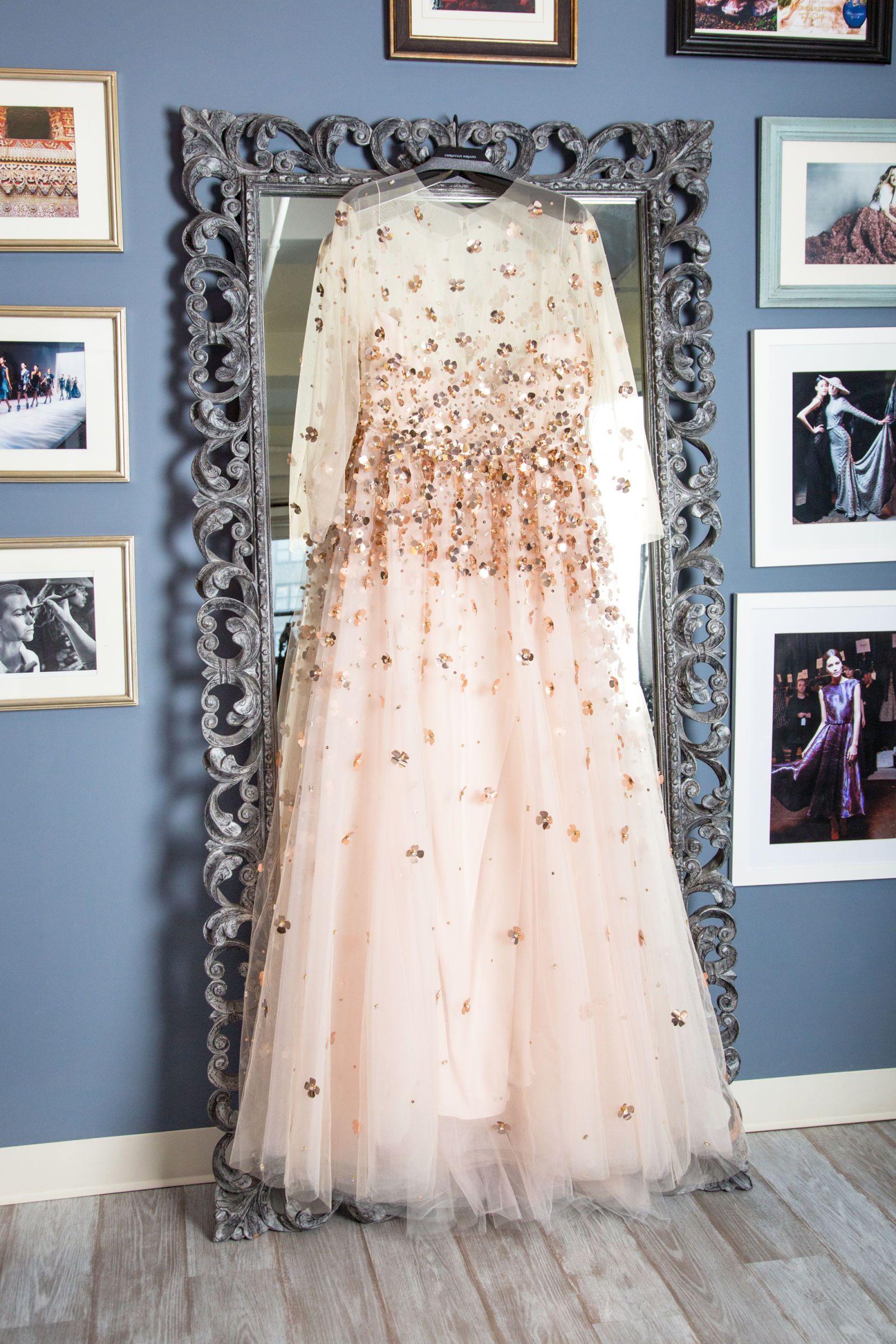 Inside Nicolette Mason S Wedding Dress Fitting With Designer Christian Siriano Fitted Wedding Dress Wedding Dresses Christian Siriano Wedding Dresses [ 2400 x 1600 Pixel ]