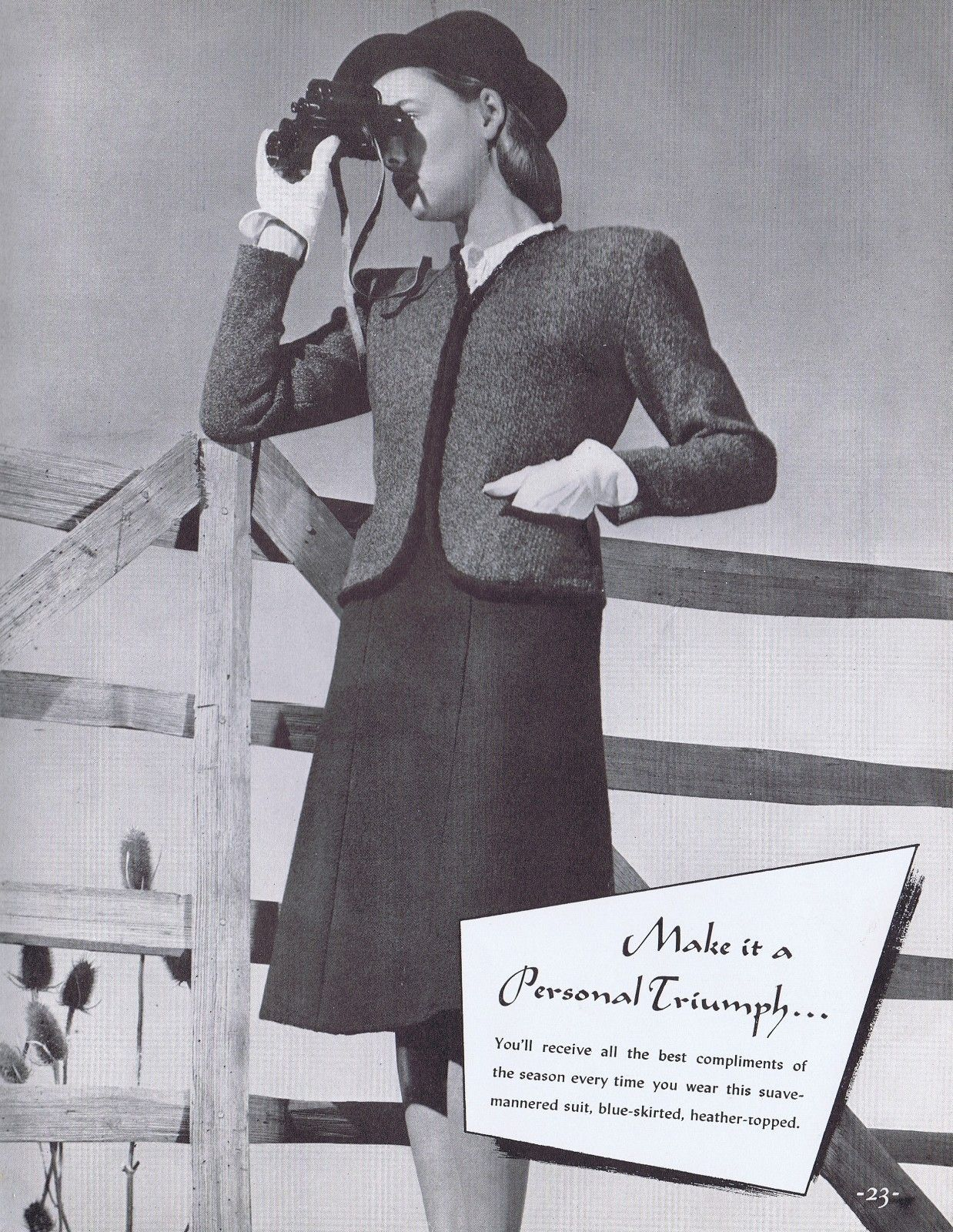 VINTAGE KNITTING PATTERNS 1940s SUIT CARDIGANS DRESSES ...