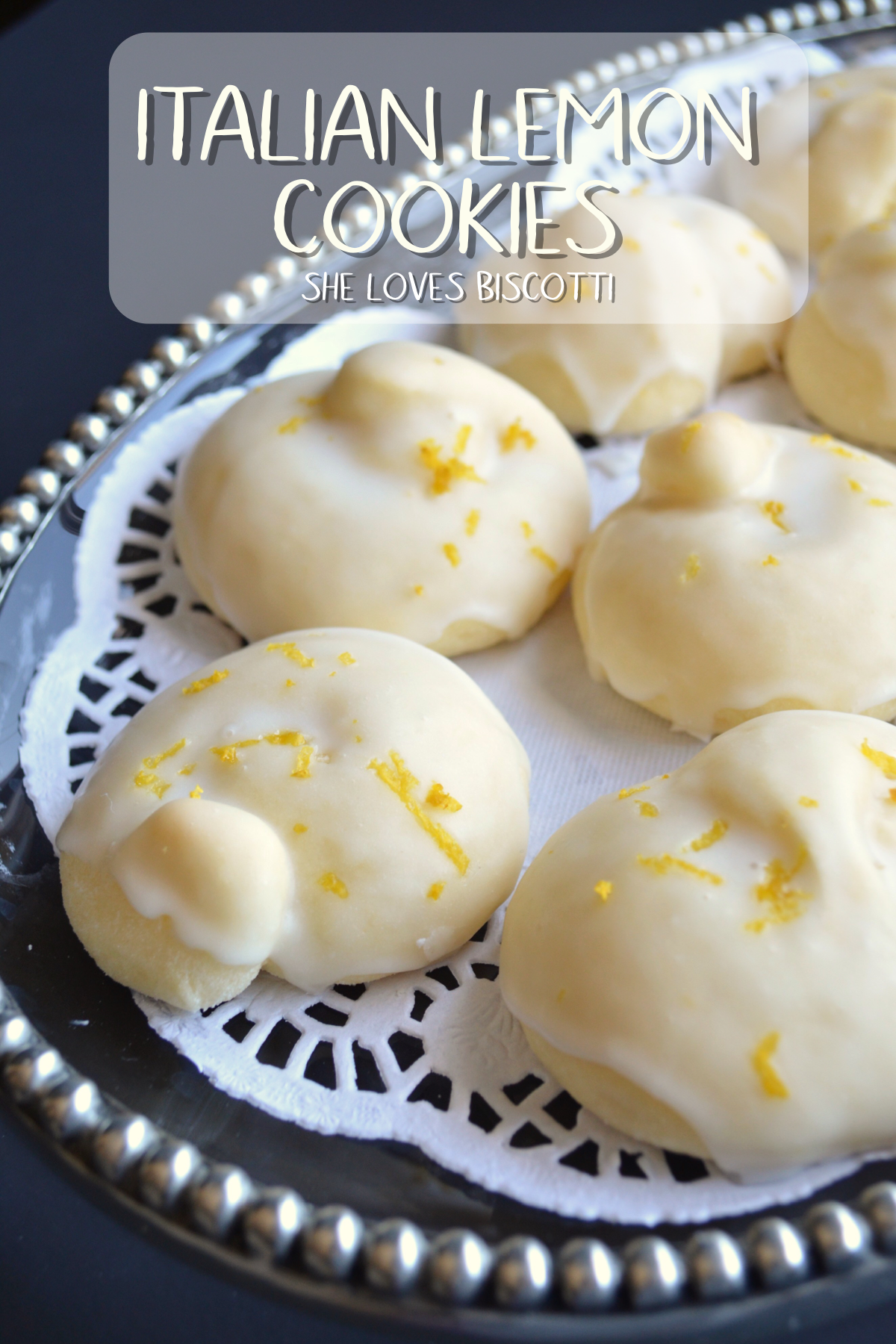 Whether You Call Them Tarallucci Or Italian Lemon Cookies They Make
