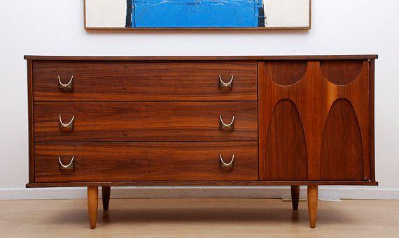 Best Mid Century Modern Dresser Credenza Walnut Brass Mahogany 400 x 300
