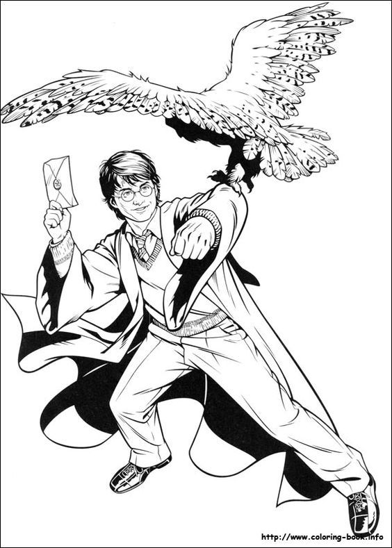 Harry Potter Coloring Page06