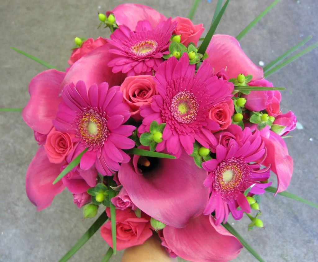 Pink Flower Bouquets For Weddings Latest Gorgeous Pink Flowers
