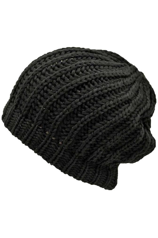 Chunky Knit Tight Beanie Cap Hat  dc8951d221b