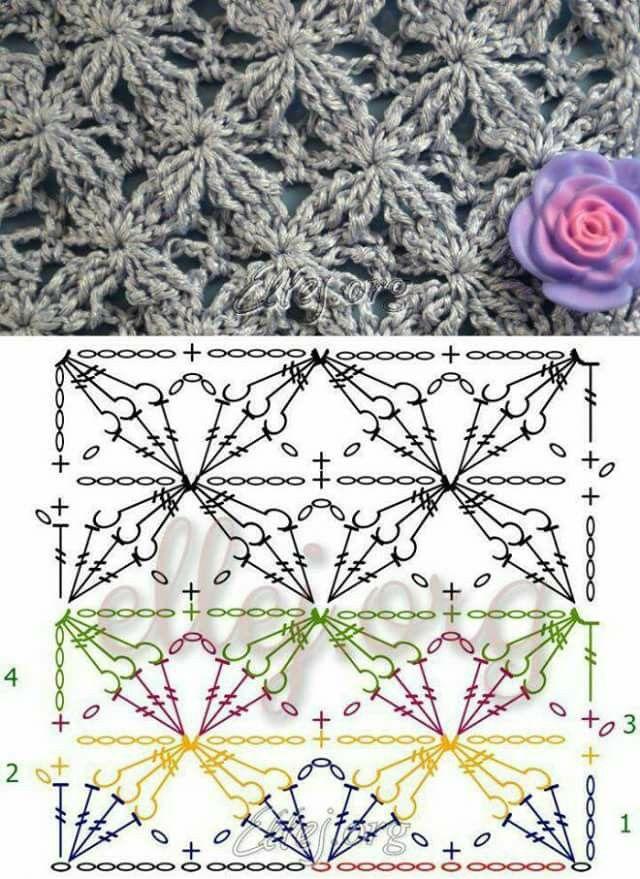 Pin de Margarita Corchado en Crochet pattern Charts | Pinterest ...