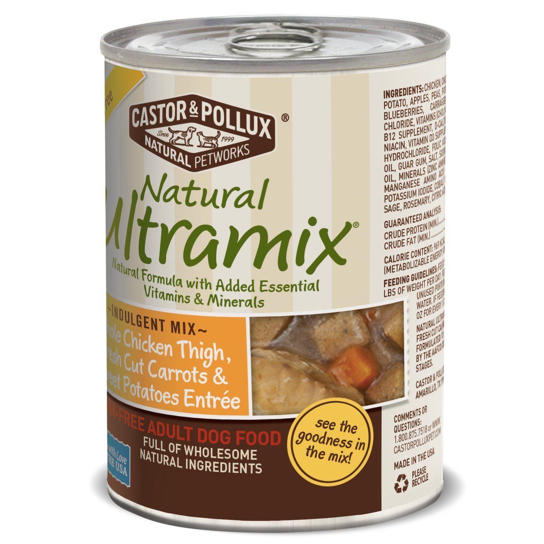 Natural Ultramix Canned Dog Food