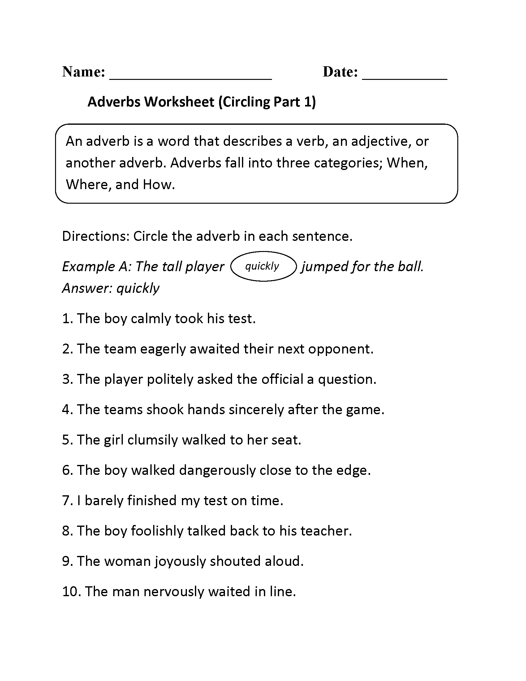 4th Grade Worksheets In