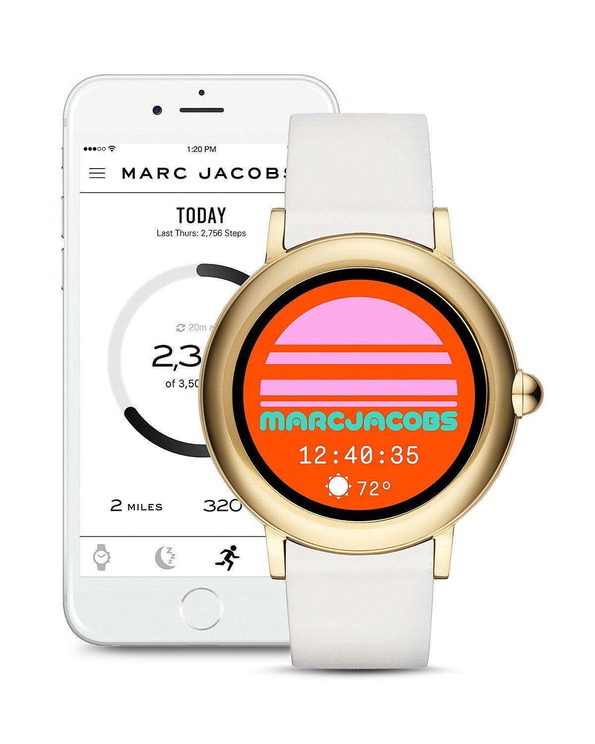 Ladies Touchscreen Retro Smartwatch By Marc Jacobs Marc Jacobs Jacobs Online Boutique Shopping
