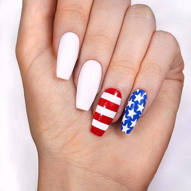 41 Best 4th Of July Nails To Celebrate In Style Nails Nail