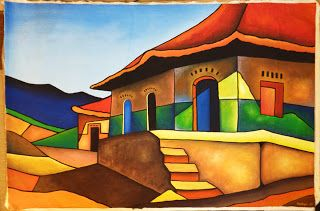 Paintings from Nicaragua