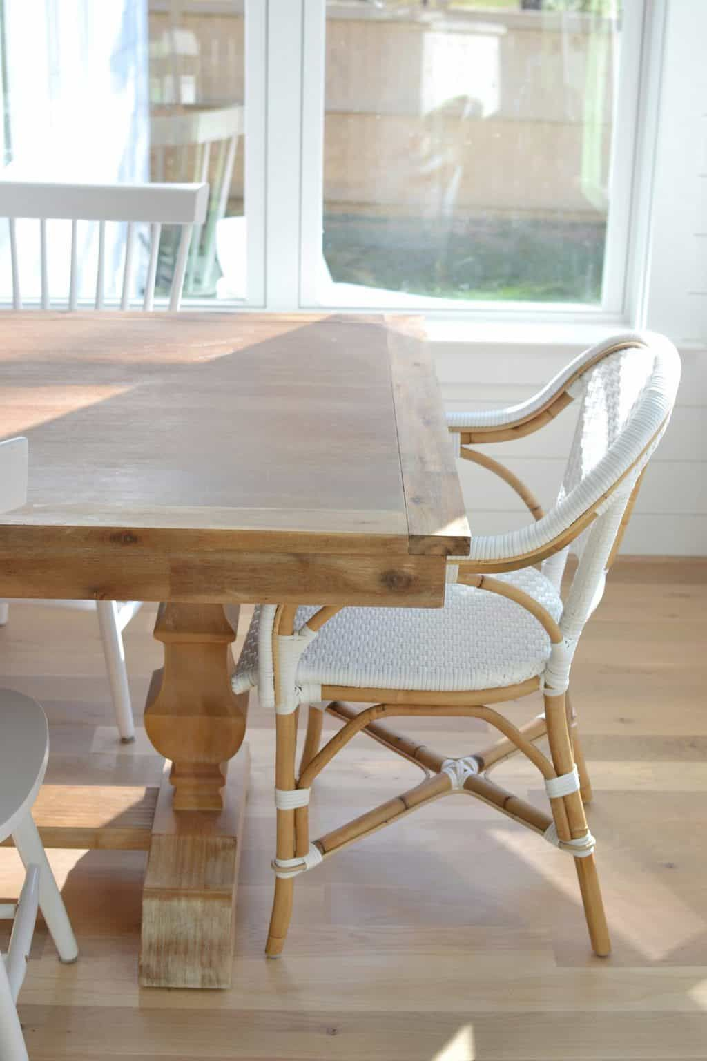 Pier 1 Bradding Table 1 Year Review Farmhouse Table Dining
