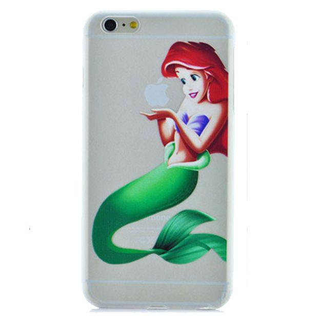Disney Princess - Little Mermaid Ariel Holding Logo Clear ...