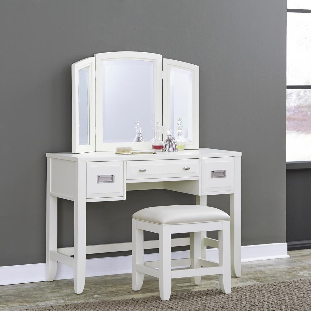 Our Best Bedroom Furniture Deals Newport 2 Piece White Vanity Set