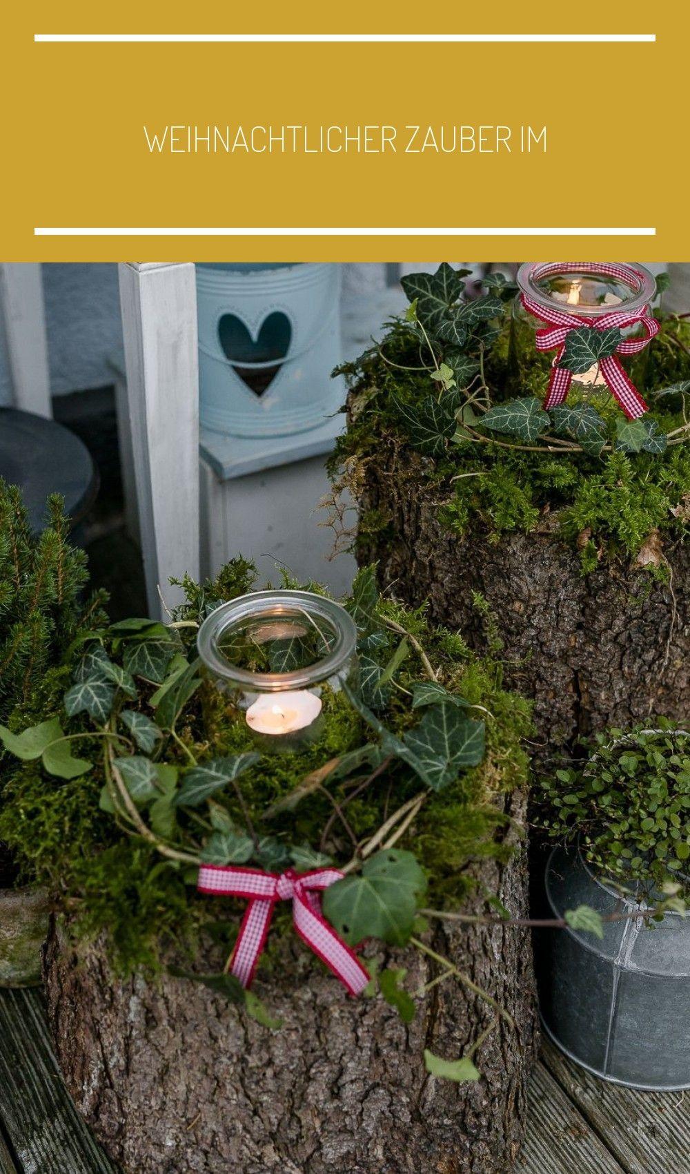 Weihnachtlicher Zauber im Novembergarten • Pomponetti #adbent #deko #garten #weckglas #holzscheiben deko garten Weihnachtlicher Zauber im Novembergarten • Pomponetti #holzscheiben deko garten #holzscheibendeko
