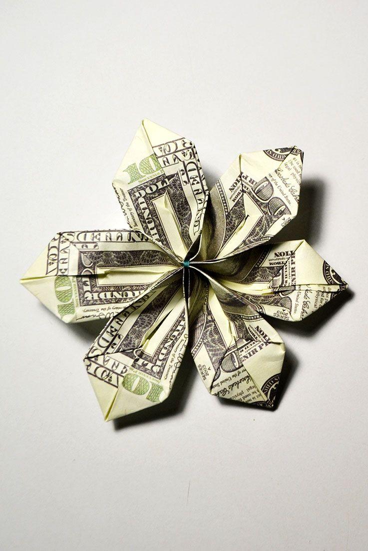 Easy Dollar Bill Flowers Topsimages