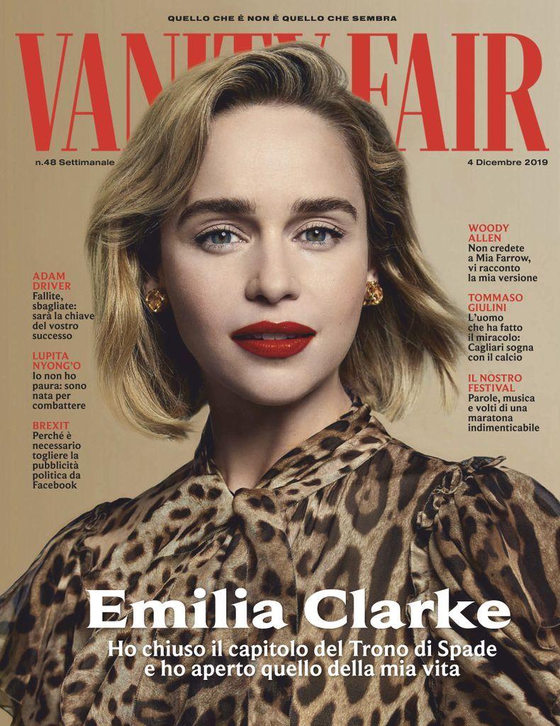 Vanity Fair Italia Back Issue 48 dicembre 2019 (Digital ...