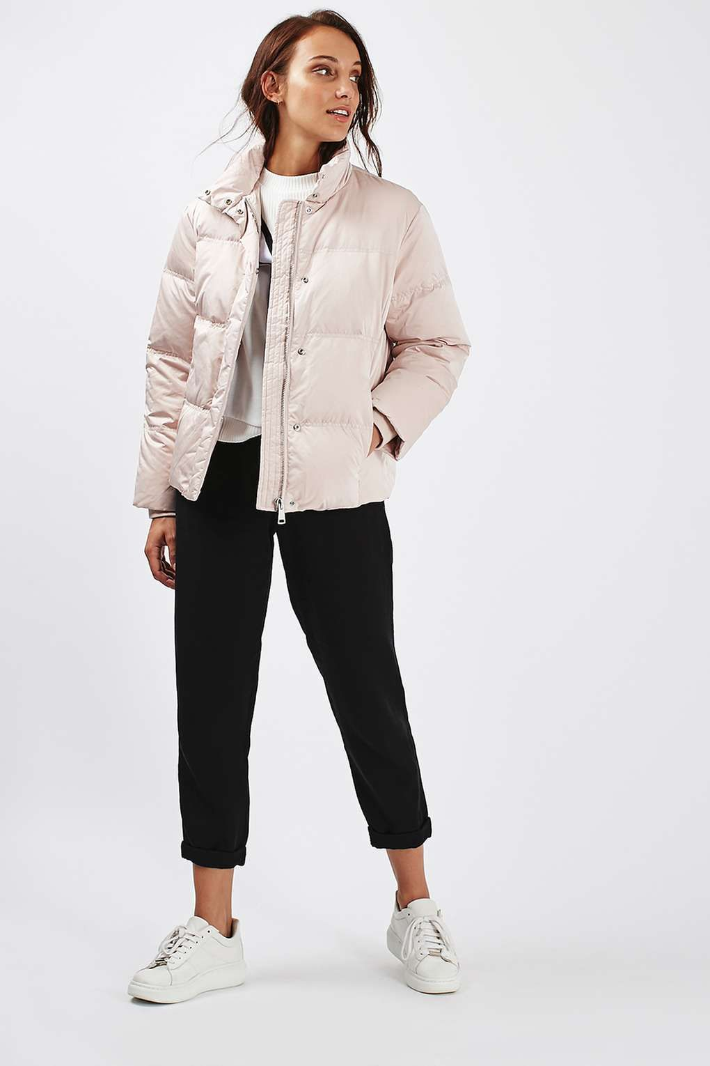 Quilted Puffer Jacket - Jackets & Coats - Clothing - Topshop | I ...