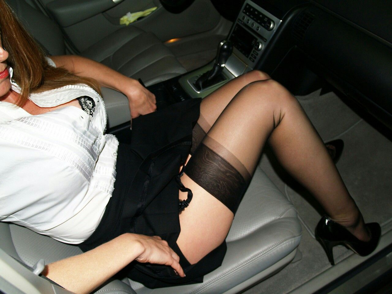 from Kye hot car ladies sex nylons