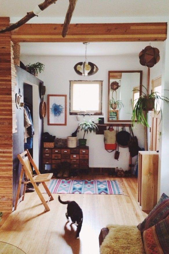 La maison bohème hippie demily katz à portland