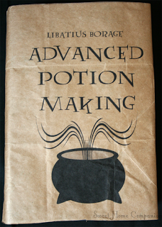 image relating to Harry Potter Potion Book Printable named Pin upon Halloween