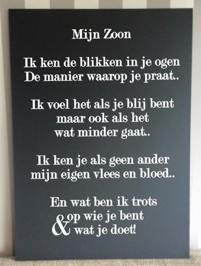 Citaten Over Zoon : Mijn zoon poem spreuken pinterest quotes sons en