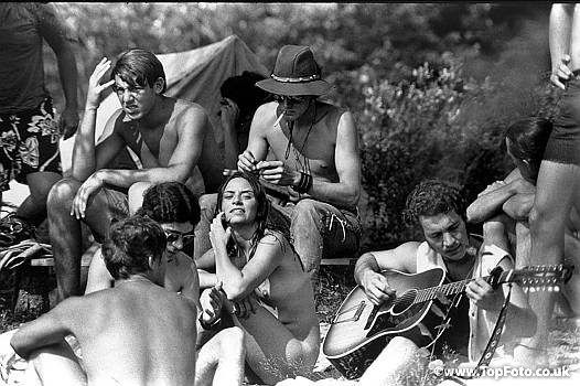 Hippies naked