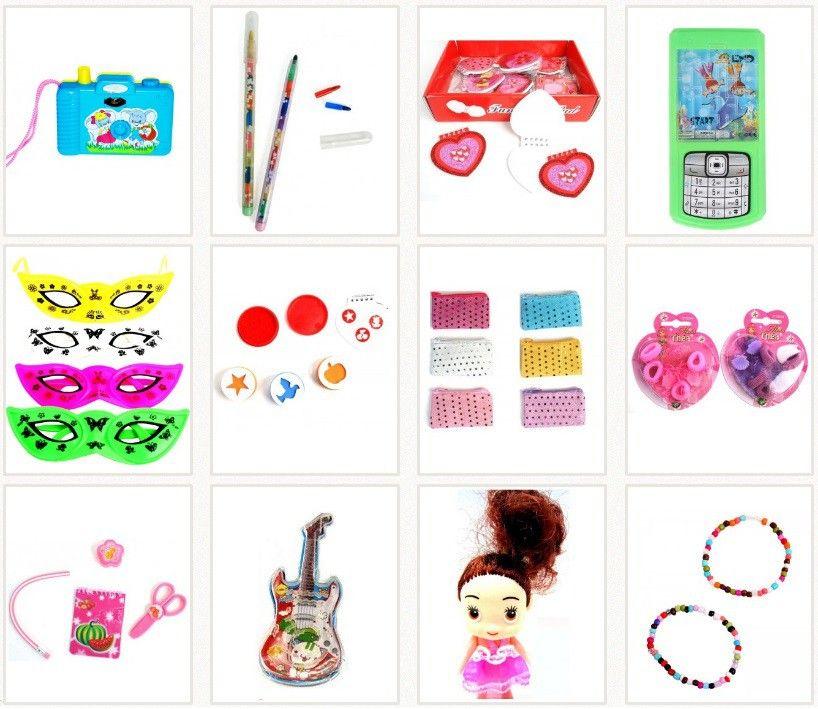lot de 12 jouets filles pour les invit es anniversaire petits cadeaux pour invit s anniversaire. Black Bedroom Furniture Sets. Home Design Ideas