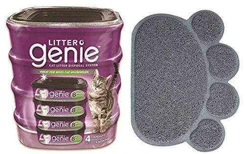 Litter Genie Refill 4 Pack 4Pack Bundle * Read more reviews of the product by visiting the link on the image.