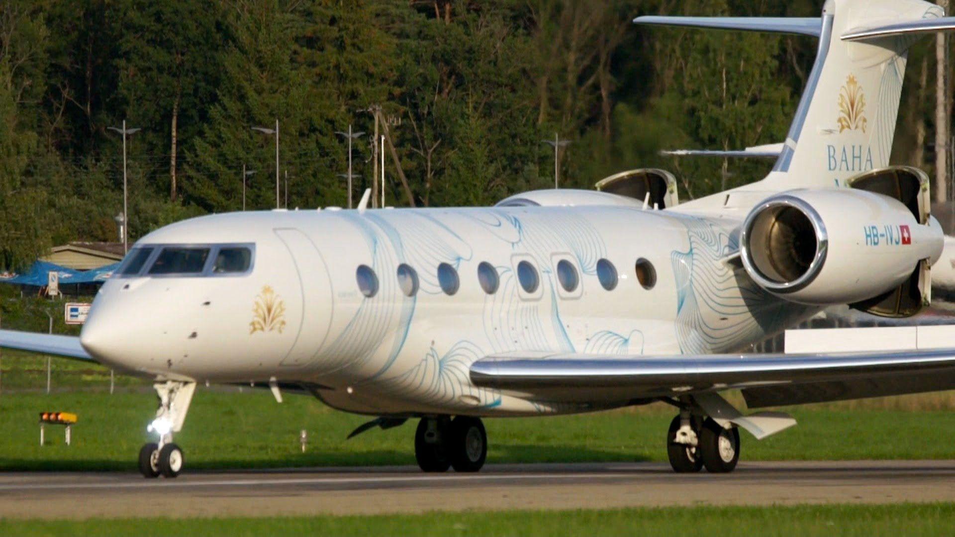 Amazing Short Take Off Gulfstream G650 Special Livery Gulfstream G650 Gulfstream Private Jet Plane