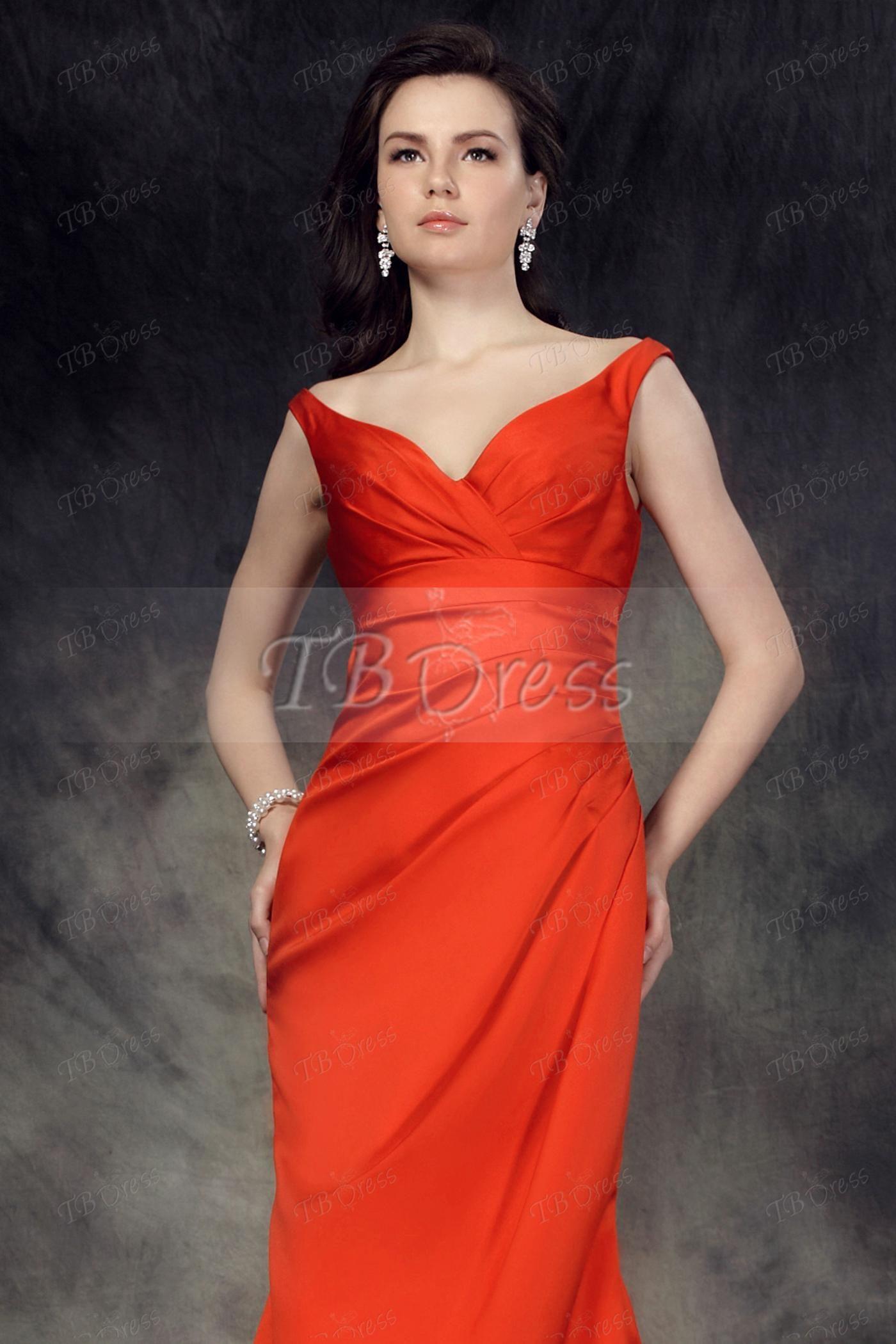 Trumpetmermaid vneck offtheshoulder long bridesmaid dress long