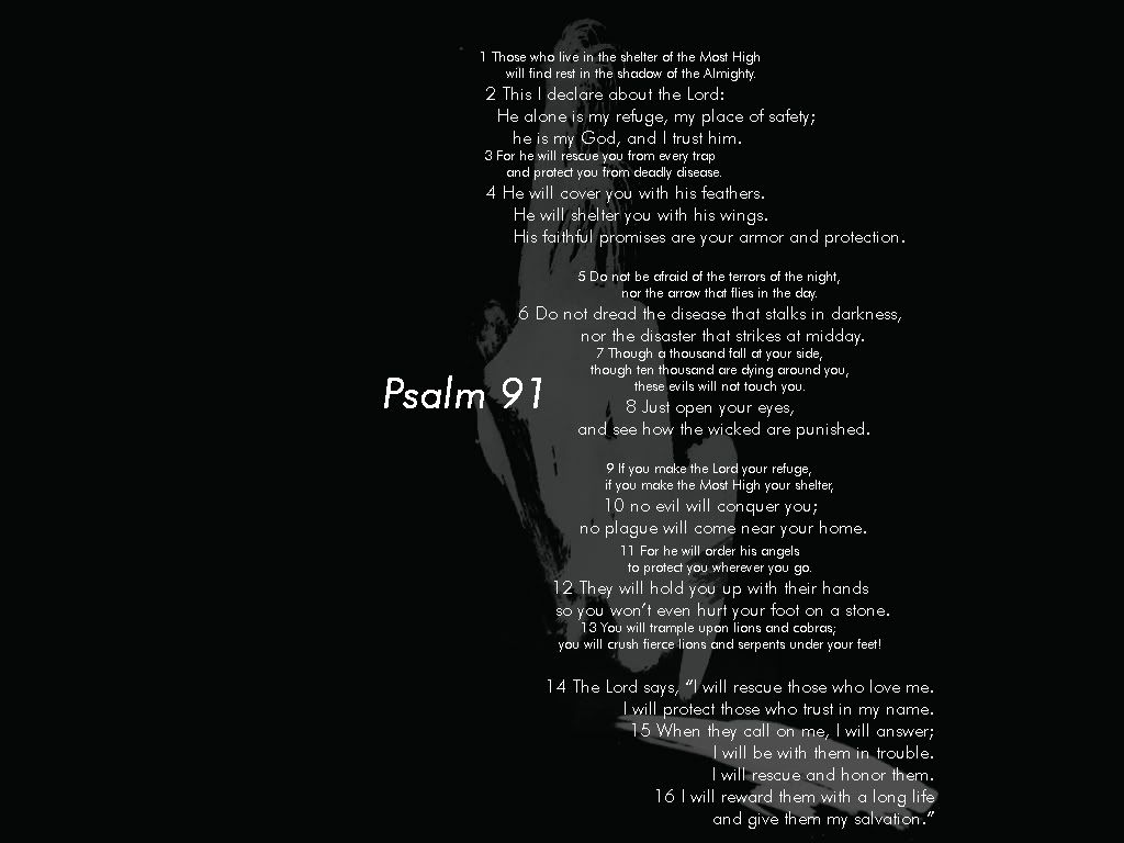 Psalms 91 Wallpaper Google Search Quotes I Love