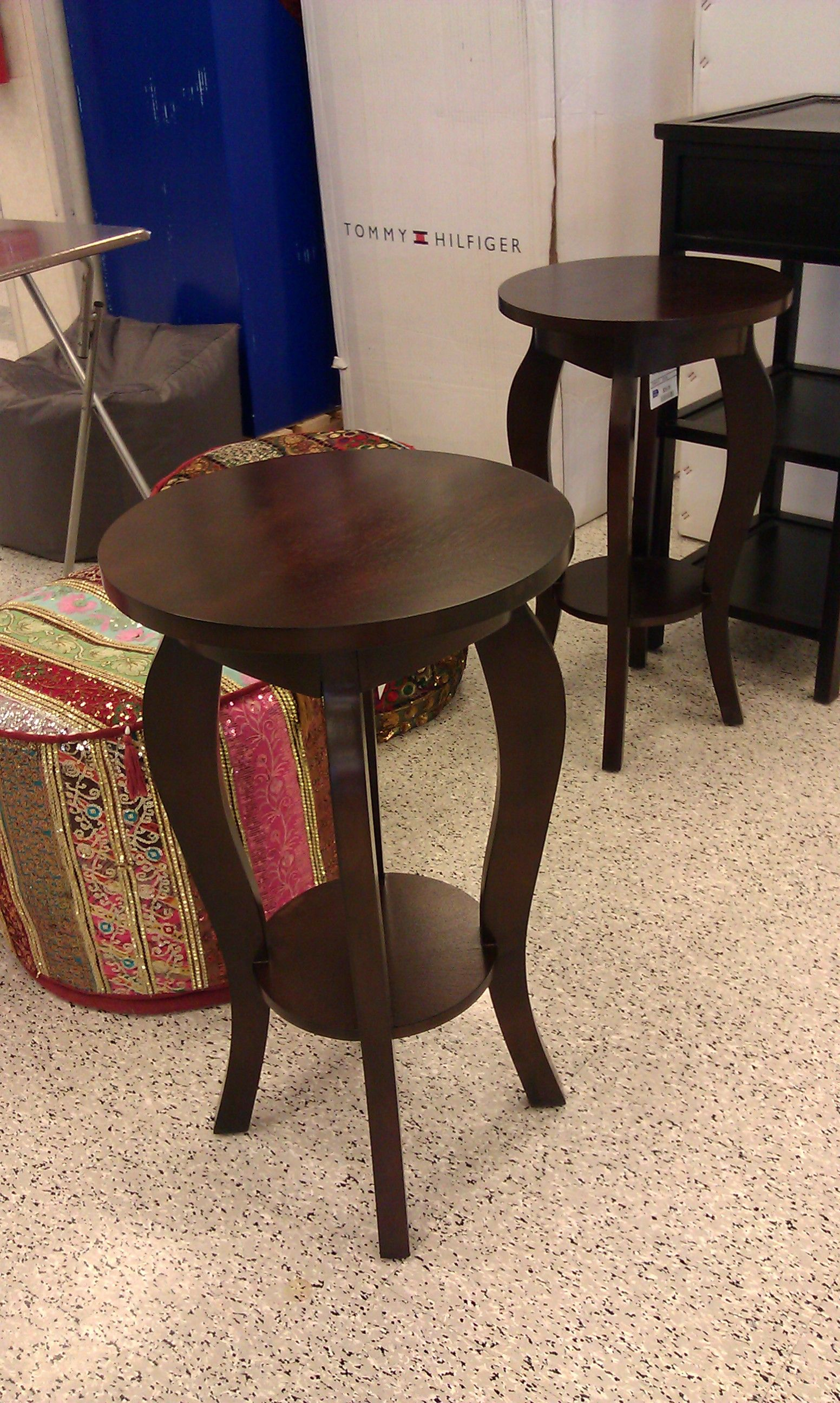 Small Round End Table At Ross Or TJ Maxx.