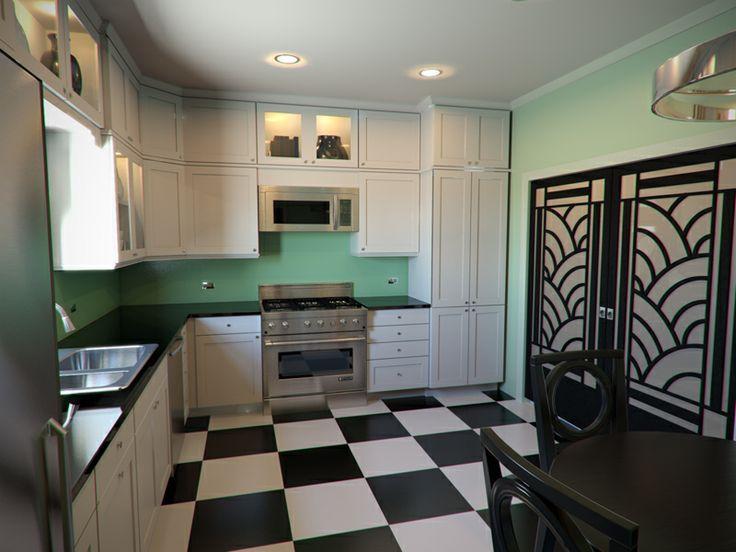 image result for vintage art deco kitchen image result for vintage art deco kitchen   up north kitchen      rh   pinterest com