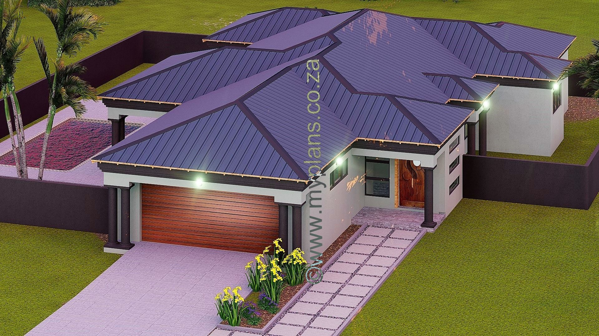 3 Bedroom House Plan Bla 074s House Plans South Africa Bedroom House Plans Bungalow House Plans