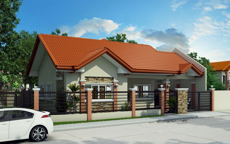 Bungalow house design can be built in the lot with sq having  frontage of at least meters stone veneers aluminum framed sliding also concepts houseconcepts on pinterest rh