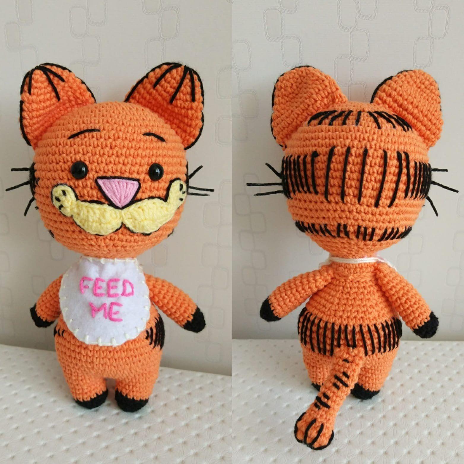 Crochet cat Amigurumi cat Stuffed cat Cat toy Cat doll