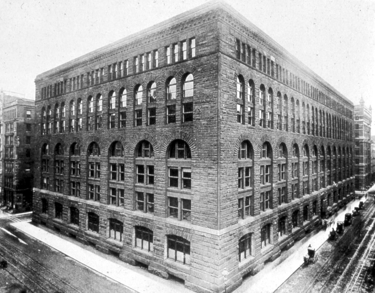 Henry Hobson Richardson Marshall Field Wholesale Store Chicago