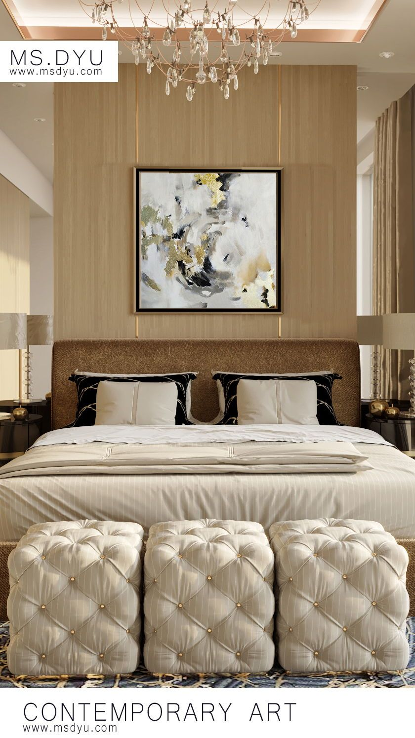 Inspirational beautiful oil painting for master bedroom ...