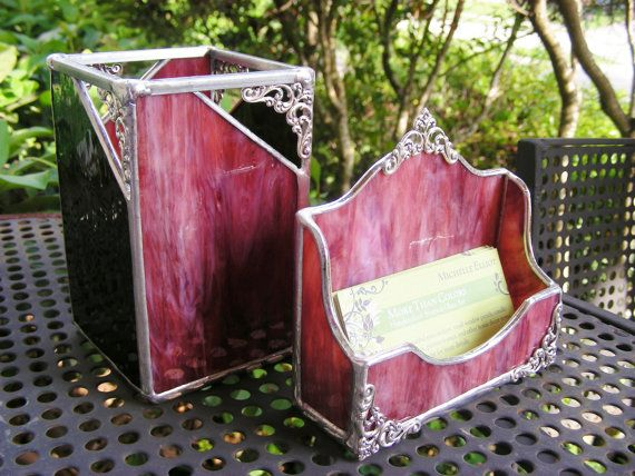 Pen Holder  to match your Business Card Holder by MoreThanColors, $45.00