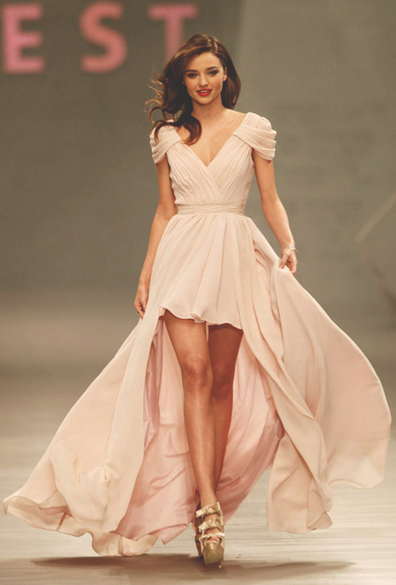 Pastel pink bridesmaid dress  EDITORIAL IMAGES  Inspiration by Fashion  Pinterest  Editorial