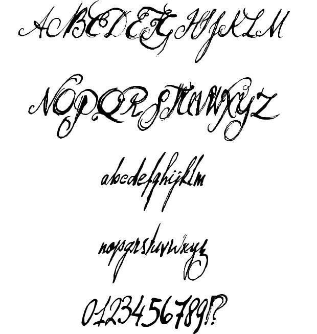 Don Quixote font by David Kerkhoff #fonts