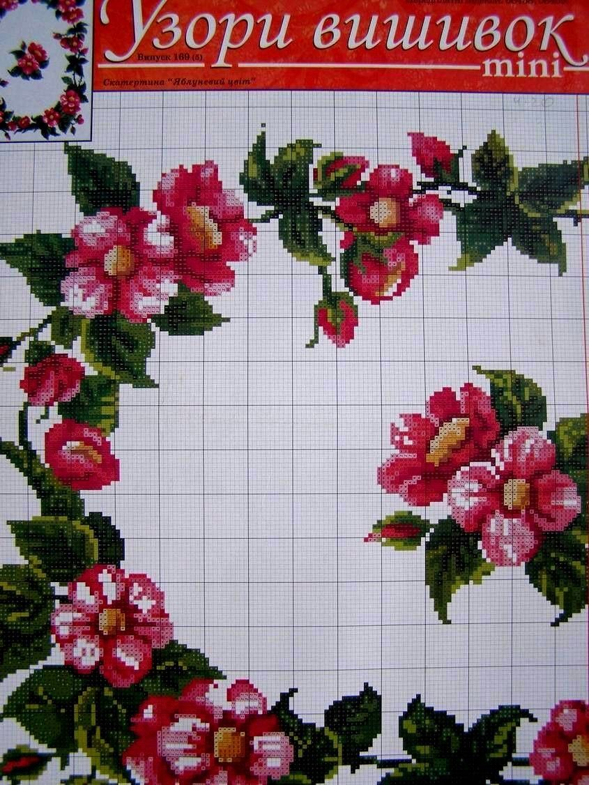 Cross stitch ukrainian embroidery flower patterns tablecloth cross stitch ukrainian embroidery flower patterns tablecloth pillow napkin 7 uz bankloansurffo Images