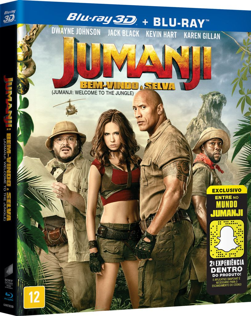 Jumanji Welcome To The Jungle Bd3d 2d St 7892770039082 With