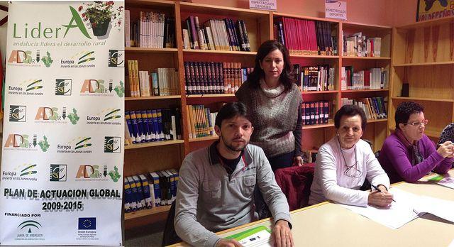 Iniciamos el taller de escritura creativa en la Biblioteca de Valdepeñas de Jaén