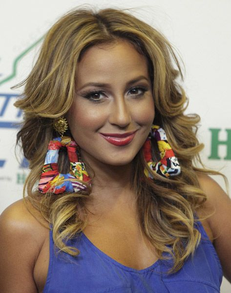 Cute Earrings Adrianne Bailon