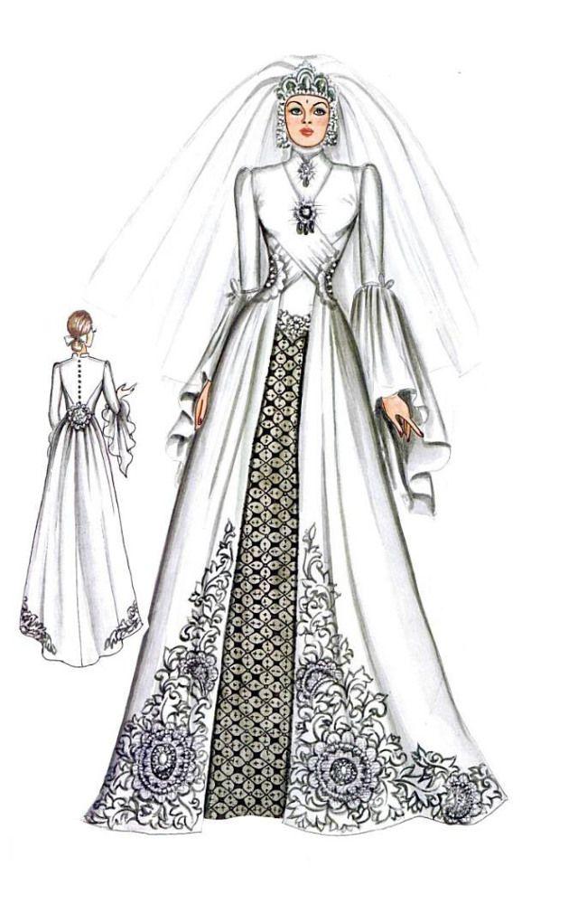 Kebaya Dan Gaun Pengantin Muslim Design Pinterest Kebaya