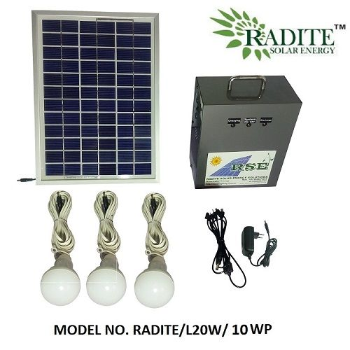 Pin On Solar Home Lighting System Radite L20w 10wp
