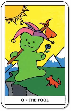 The Fool - Gummy Bear Tarot