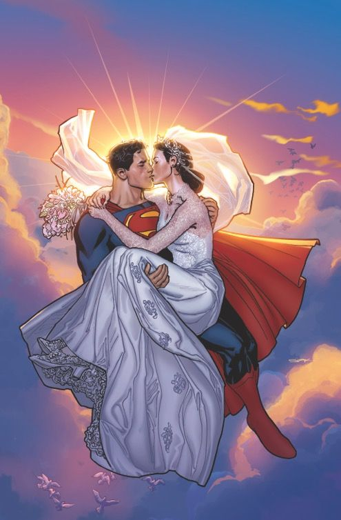Superman And Lois Just Married  Superman And Friends  Superman Lois -9470